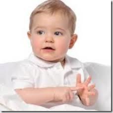 signer avec bebe