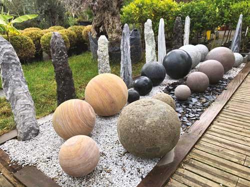 deco minerale au jardin ma maison