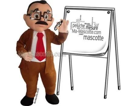 Fabrication Mascotte Sur Mesure professeur (mascotte personnage sur mesure).