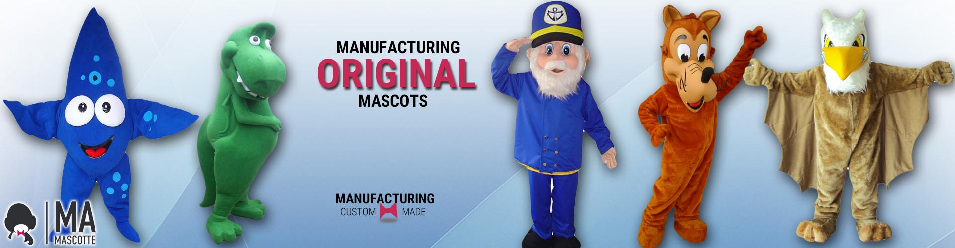 CUSTOM MADE MASCOT COSTUME MANUFACTURING AND CREATION