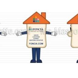 Création Graphique Sur Mesure maison FONCIA (création graphique sur mesure).