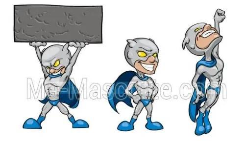 Création Graphique Sur Mesure super héro (création graphique sur mesure).