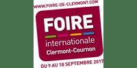 Logo Client FOIRE INTERNATIONALE DE CLERMONT-COURNON (Ma Mascotte - fabrication sur mesure de mascottes et peluches)
