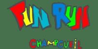 Logo Client FUN RUN CHAMPCUEIL (Ma Mascotte - fabrication sur mesure de mascottes et peluches).