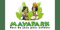 Logo Client MAYAPARK (Ma Mascotte - fabrication sur mesure de mascottes et peluches).
