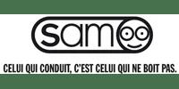 Logo Client SAM SÉCURITÉ ROUTIÈRE (Ma Mascotte - fabrication sur mesure de mascottes et peluches).