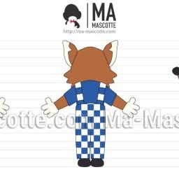 Design 3D Mascotte Sur Mesure Renard. Création graphique Mascotte.