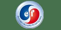 Logo Client ESF (Ma Mascotte - fabricant peluche et mascotte sur mesure; porte clés et clés usb sur mesure).