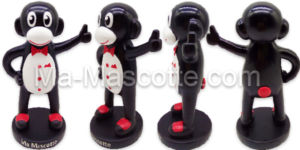 Fabrication figurine sur mesure en résine Ma Mascotte