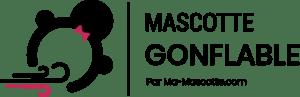 Logo mascotte gonflable