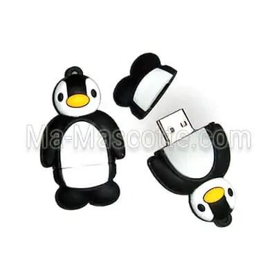 exemple clés-usb sur mesure pingouin
