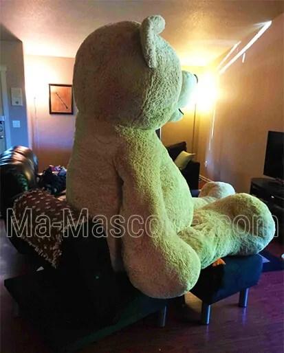 Peluche géante ours. Fabrication peluche géante sur mesure.