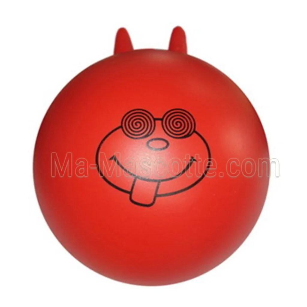 Balle antistress en forme de ballon sauteur
