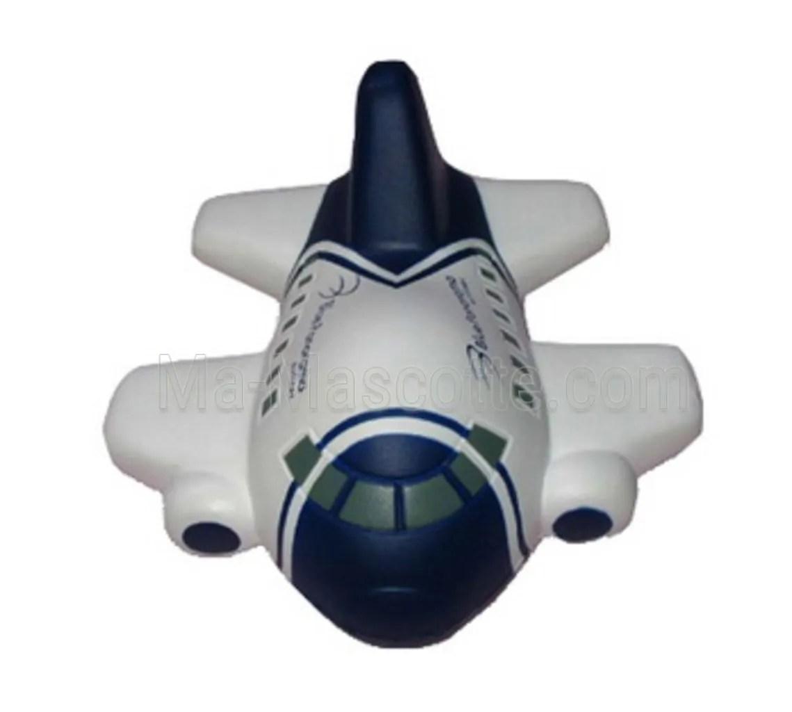 Super avion sur mesure fabriquée en mousse anti-stress