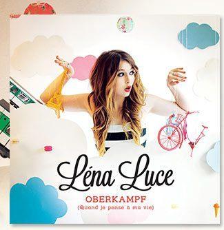 """la cover du single """"Oberkamp"""" de Lena Luce"""