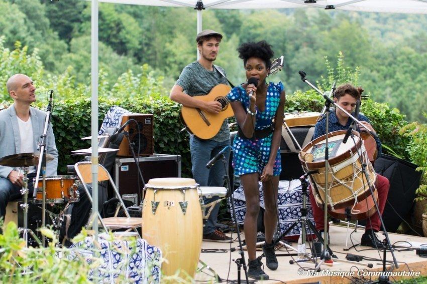 Belle performance de Lucia Carvalho au jazz festival de La Petite Pierre