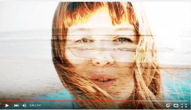 capture d'écran du clip Autistik de Manon Tanguy