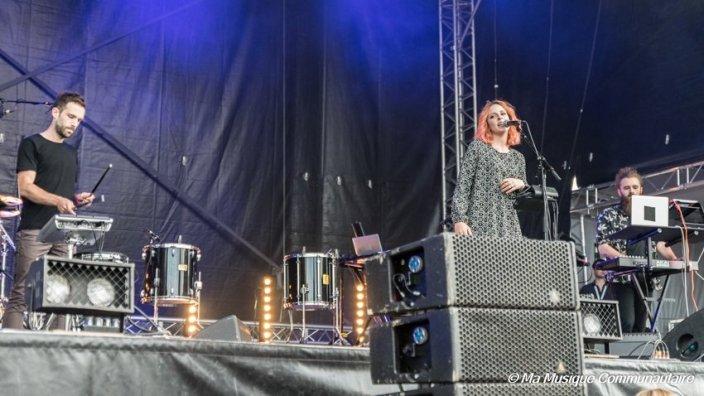 Portland au festival des ondes messines en première partie de Marina Kaye