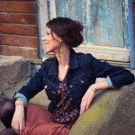 l'artiste française Lisa Milo lors de la promotion de son single Jusqu'au petit jour