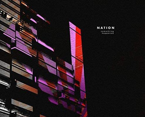 pochette de l'EP de l'artiste NATION