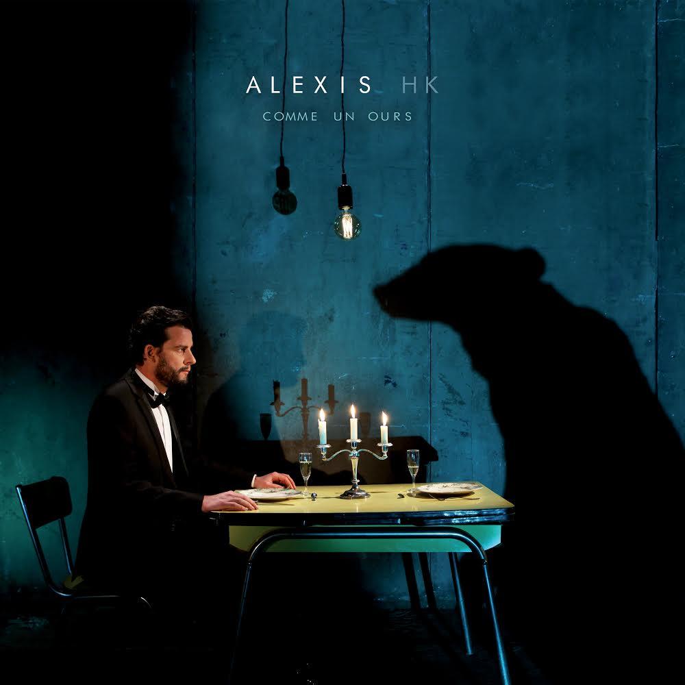 """pochette du titre """"comme un ours"""" de Alexis HK"""