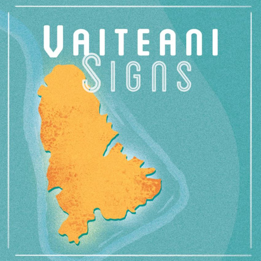 pochette du single Sings du duo poynésien Vaiteani