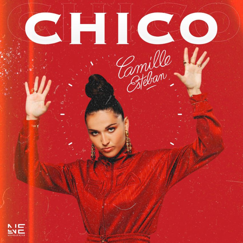 "pochette du single ""Chico"" de Camille Esteban"