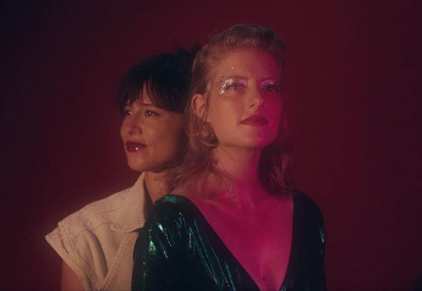 portrait en duo issu du clip de Dynah