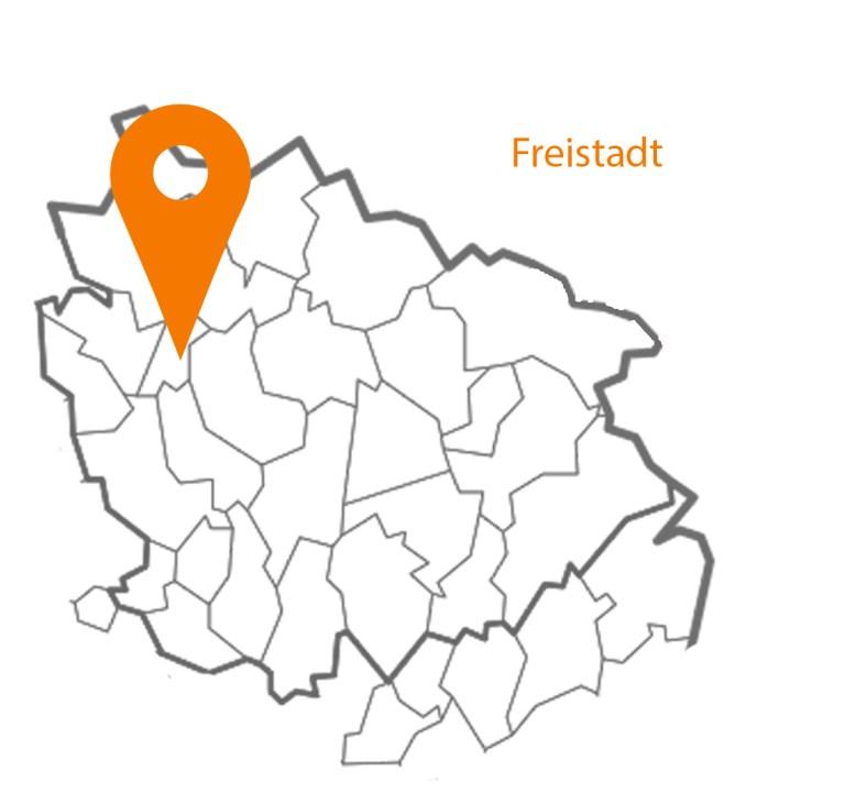 MAP Landkarte Freistadt