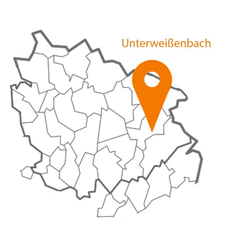 MAP Karte Unterweißenbach
