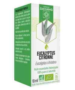 Huile essentielle eucalyptus citronné bio Dayang 10ml