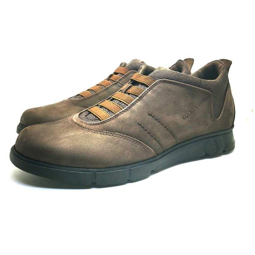 Chaussure de ville ACAFIO-Confort pour homme marron
