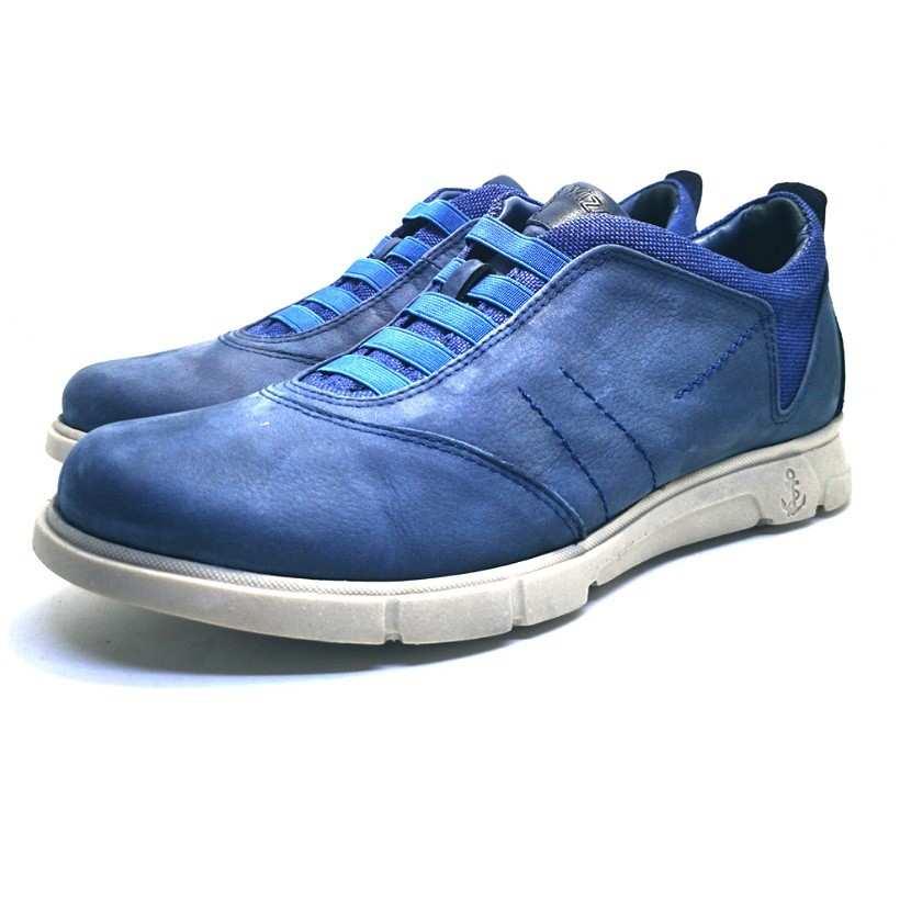 Chaussure de ville ACAFIO-Confort pour homme bleu