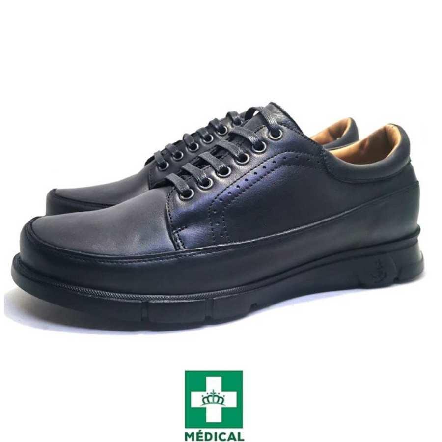 Chaussure de ville DressZ-Confort pour homme noir