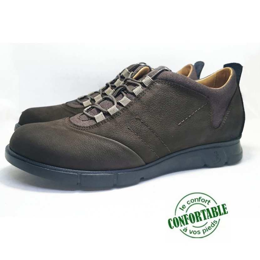 Chaussure de ville Clow-Confort pour homme