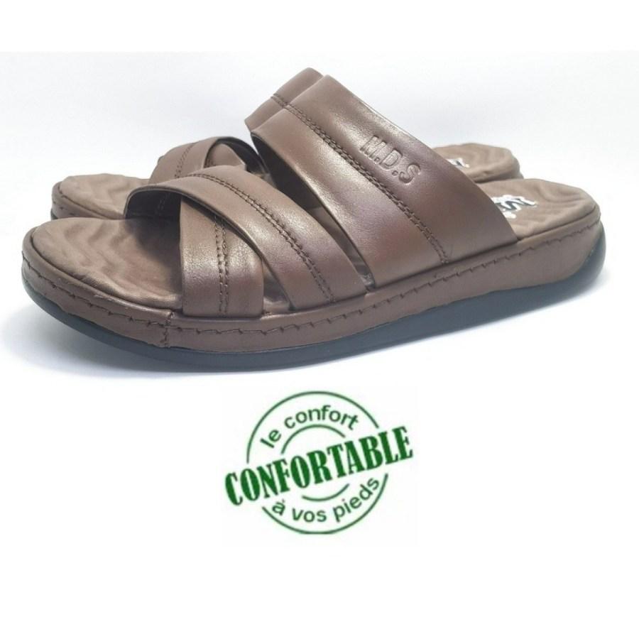 sandale médical REPOLDERZ marron pour homme
