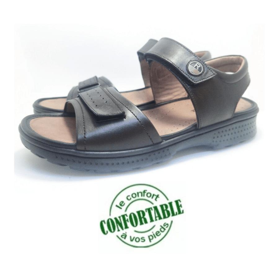 sandale médical Scratch marron pour homme