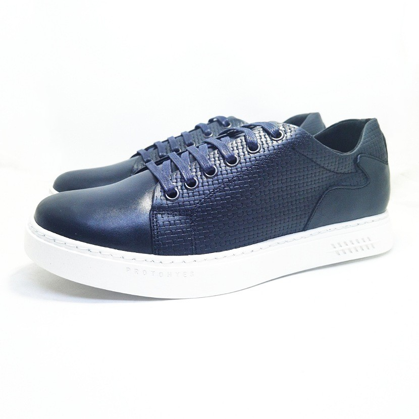 chaussure basket POGUEL bleu