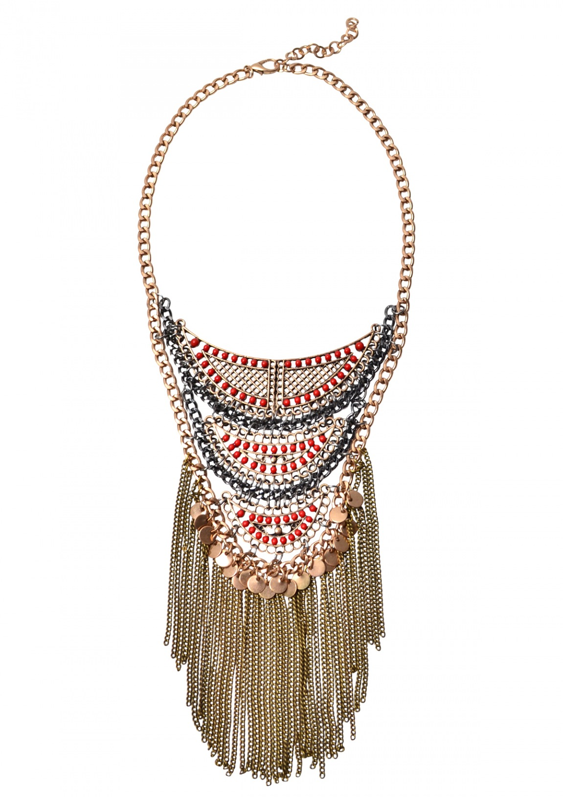 Boho Tribal Statement Necklace Happiness Boutique