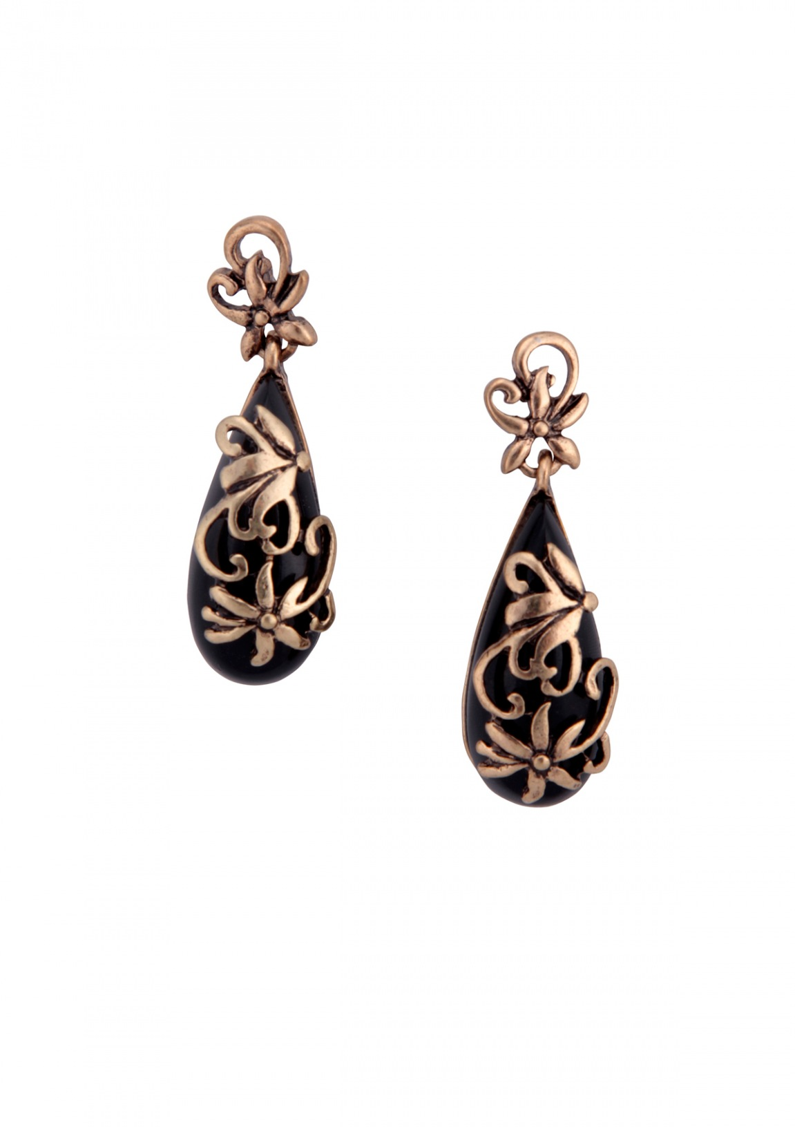 Black Magic Statement Earrings Happiness Boutique