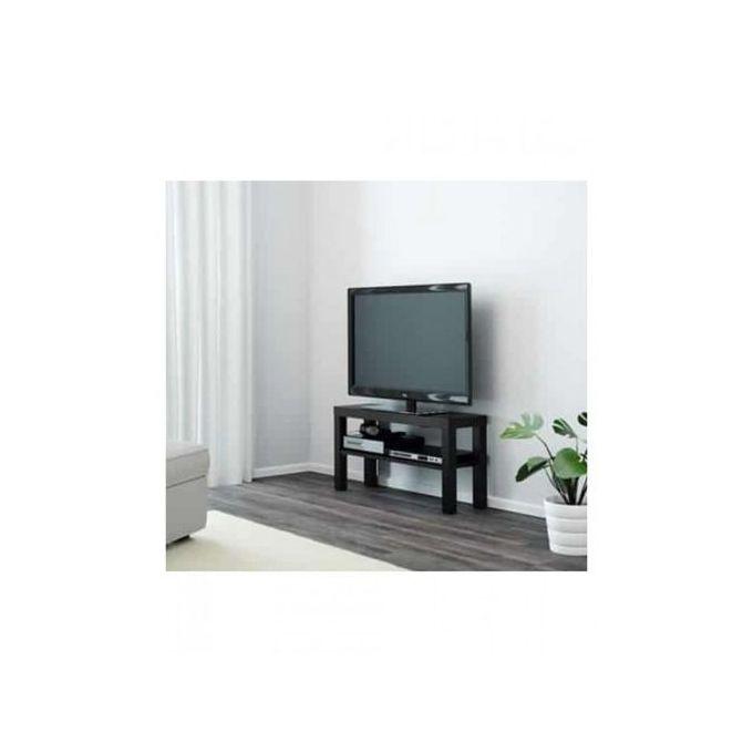 meuble table tv noir ideal pour sejour salon chambre cafe bistro ikea