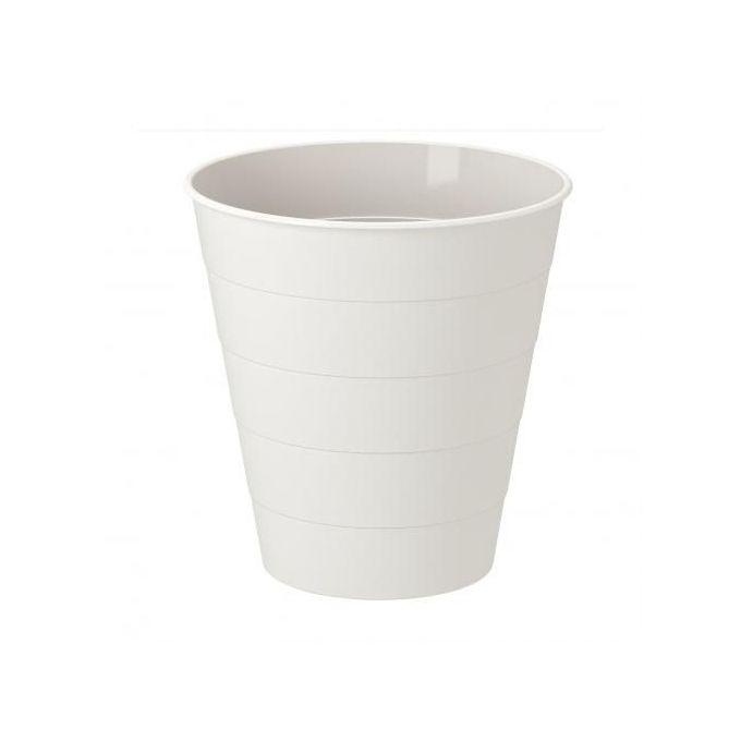 Ikea Poubelle Blanc 10 L Corbeille De Bureau Et Salle De Bain 28 Cm A Prix Pas Cher Jumia Maroc