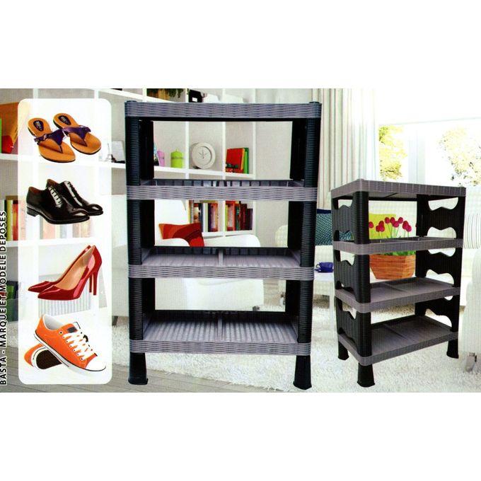 meuble a chaussures armoire rangement chaussure etagere a chaussures plastique