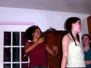 Julie Sugar, Rebecca Lammons, Sarah Clarke