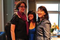 Heather Rasley, Marianne Masculino, Min Jung Kim
