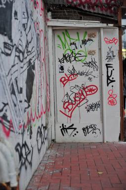 Wall graffitti
