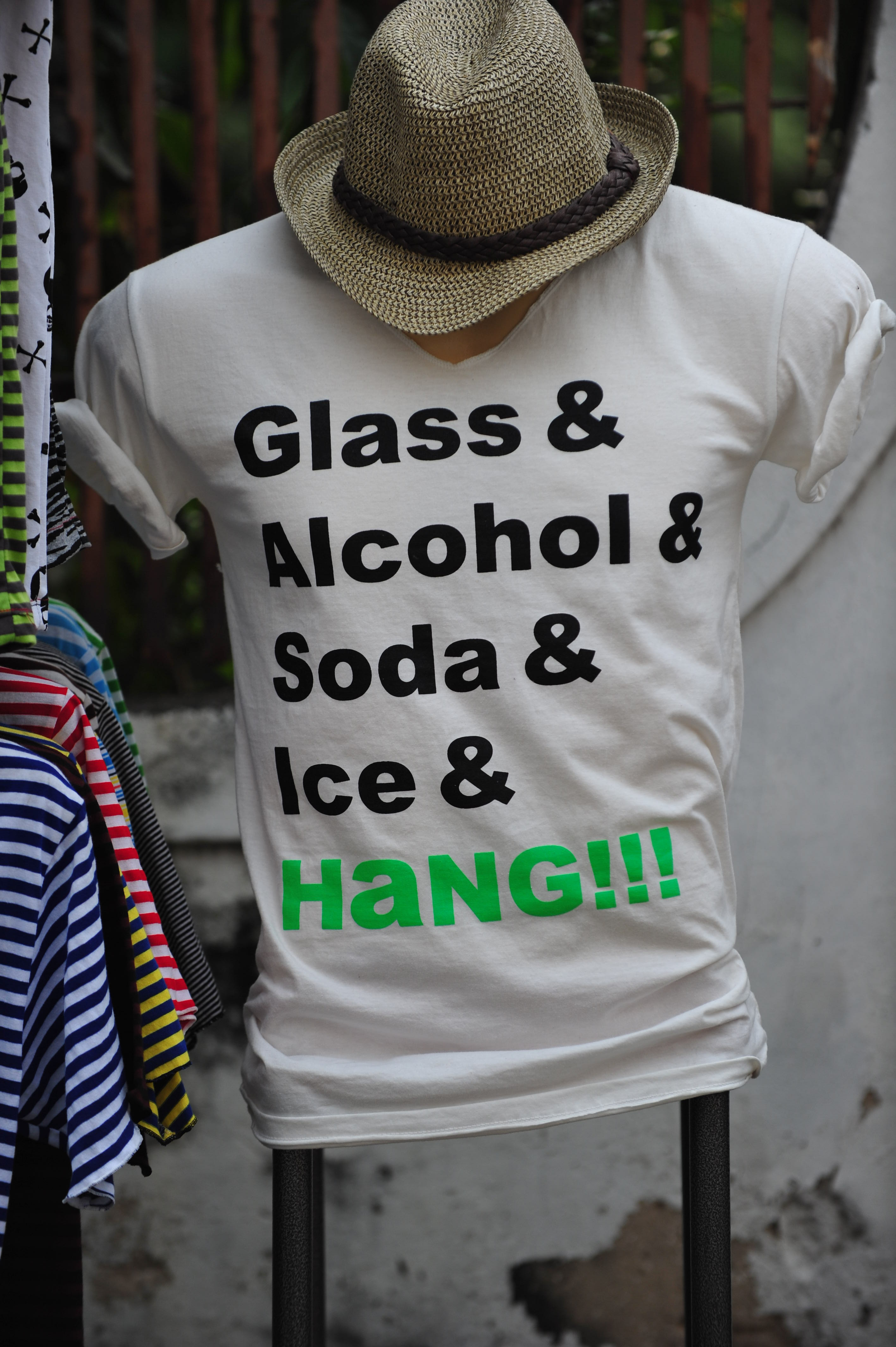 Glass & Alcohol & Soda & Ice & Hang!!!3 Comments