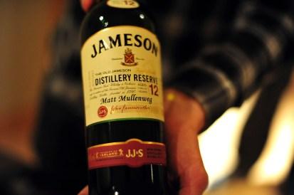 Branded bottle of Jameson5 Comments
