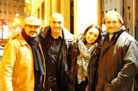 Shervin Pishevar, Loic Le Meur, Geraldine Le Meur, Jeff Clavier