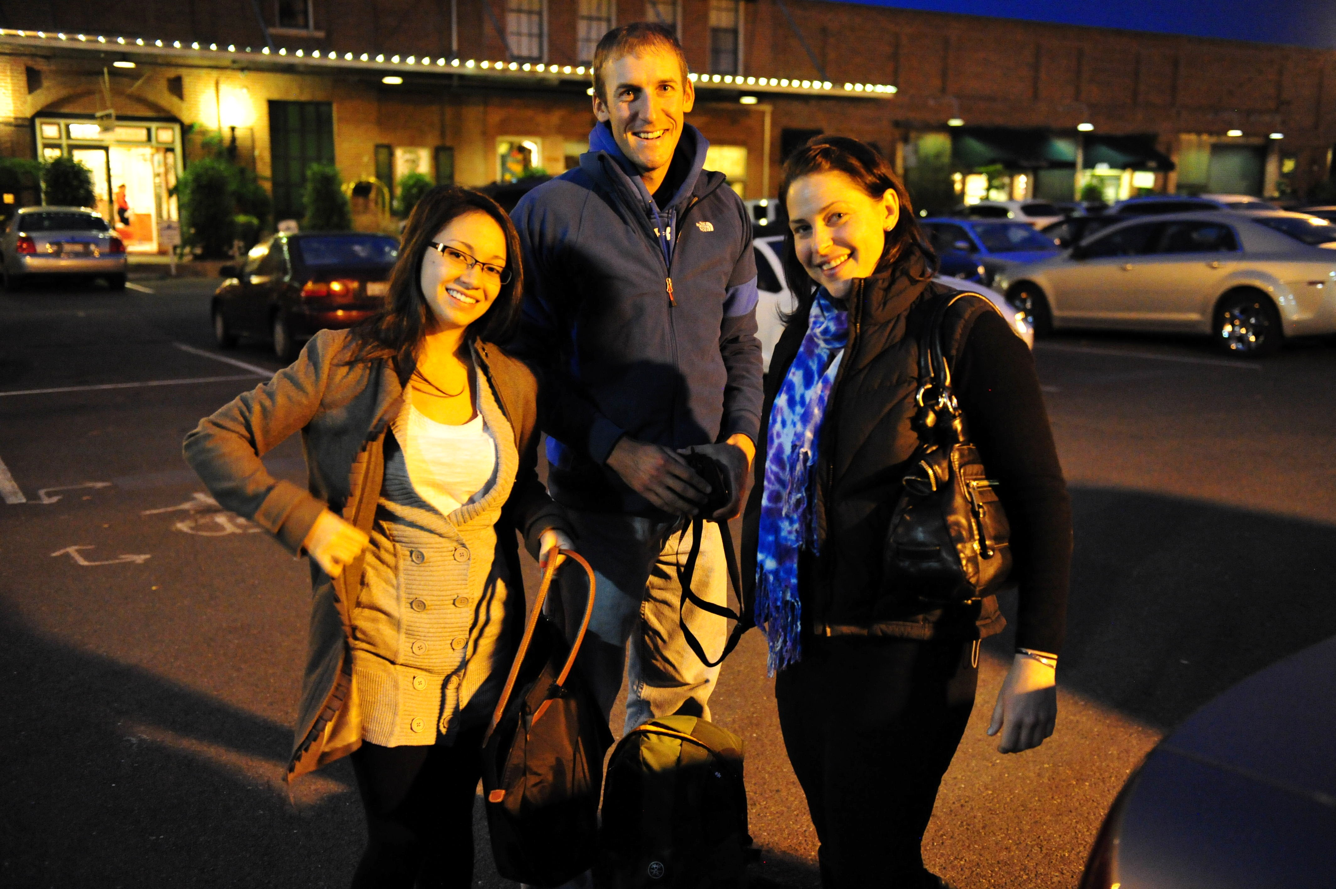 Erica Johnson, Nick Momrik, Rose Goldman